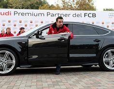 (video) Audi ha consegnato ai giocatori del FC Barcelona i nuovi veicoli per la stagione 2012/13
