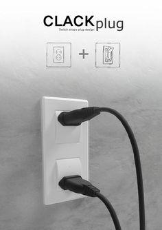 コンセントとスイッチを一体化させた目から鱗のデザインコンセプト - K'conf