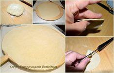 Παραδοσιακά χανιώτικα καλιτσούνια - cretangastronomy.gr Cantaloupe, Dairy, Cheese, Fruit, Food, Essen, Yemek, Meals