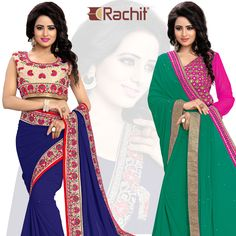 Flaunt your curves wearing our most beautiful bridal wear sarees.