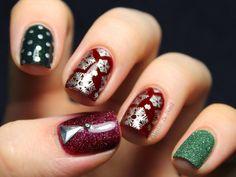 Globe & Nail: Christmas #nail #nails #nailart