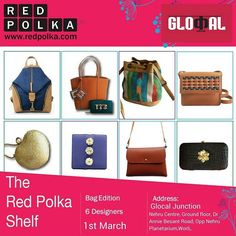 The #RedPolkaShelf is coming to the @glocaljunction this Wednesday!  Come have the best ladies night you can!  #popup #bag #bagoftheday #bagstagram #bagforsale #instastyle #stylegram #instadaily #instalike #shopping #shoppaholic #onlineshopping #shoppingspree #shopkins #instastyle #instaootd #instaootdindo #curated #fashion #handpicked #designs #thechosenone