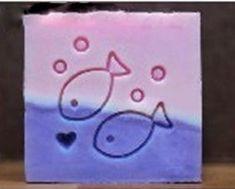 Soap Stamp Soap Mold Seal Resin DIY Handmade Soap Zodiac Pisces Fish