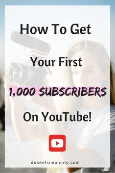 How to get your first 1,000 subscribers on YouTube #youtube #youtuber #getyoutubesubscribers #gainyoutubesubscribers #growonyoutube