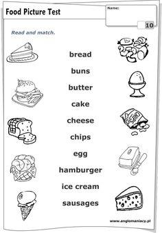 food worksheet   Food   Food vocabulary, Worksheets for kids ...