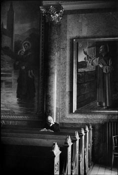 © Henri Cartier-Bresson/Magnum Photos HUNGARY. 1964. Benedictine monastery, south of Gyor. Candid Photography, Street Photography, Dream Pictures, Henri Cartier Bresson, George Bernard, Bernard Shaw, French Photographers, Magnum Photos, Photojournalism