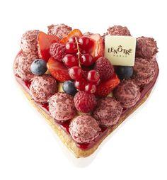 Amour de Saint-Honoré aux fruits frais http://www.lenotre.com/