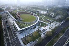 Image 33 of 43 from gallery of Victims of Nanjing Massacre Memorial Hall / Architectural Design & Research Institute of South China University of Technology. Courtesy of Architectural Design & Research Institute of South China University of Technology Technology Photos, Technology World, Futuristic Technology, Technology Design, Technology Gadgets, Tech Gadgets, Nanjing, Concreto Permeable, Halle