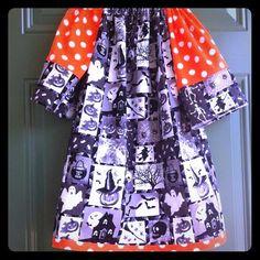 "Selling this ""Halloween peasant dress"" in my Poshmark closet! My username is: kadence_kloset. #shopmycloset #poshmark #fashion #shopping #style #forsale #Kid Boutique #Dresses & Skirts"