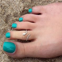 Fashion Jewelry Steady 925 Sterling Silver Scroll Adjustable Cute Toe Ring Set Fine Jewelry Gifts