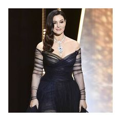 Monica Bellucci wears Christian Dior gown at the Opening Gala during the annual Cannes Film Festival at Palais des Festivals on May 2017 in Cannes, France. Dior Fashion, Runway Fashion, Fashion Models, Fashion Show, Monica Bellucci Photo, Monica Belluci, Most Beautiful Women, Amazing Women, Marie Claire