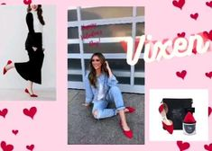 Vixen the perfect pop of red! Shop your pair now! Foldable Flats, Red Shop, Red Flats, Vixen, Perfect Fit, Joy, Glee, Being Happy, Happiness
