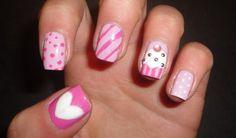 Mis uñas de cumpleaños