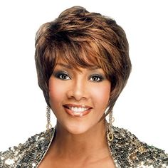 Vivica A Fox Premium Human Hair PS Cap Wig in Color 4 *** Check out this great product. (This is an affiliate link) Vivica Fox, Mature Style, Human Hair Color, Mature Fashion, Color 2, Human Hair Wigs, Wig Hairstyles, Health Tips, Image Link