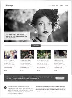 Widely is a beautiful free theme from Themes Kingdom, versatile enough to be used for a business or creative website.