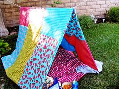 DIY Outdoor Fort   15 Summer Activities for Kids
