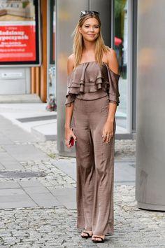 Silk Satin, Dresses, Jumpsuits, Fashion, Vestidos, Overalls, Moda, Rompers, La Mode