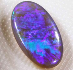 VERY BRIGHT BLACK OPAL FROM LR - 4.35 CTS - 268509 -$400 res