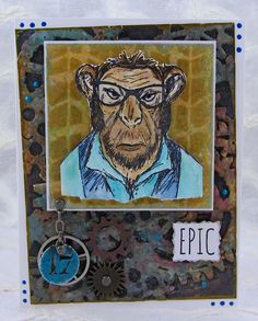 Art By Wanda: Epic Monkey Man