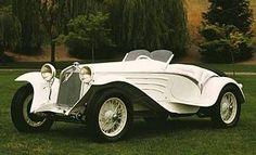 Carrozzeria Touring coachwork gracing a pre-war Alfa Romeo