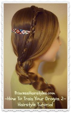 How To Train Your Dragon, Astrid Hairstyle