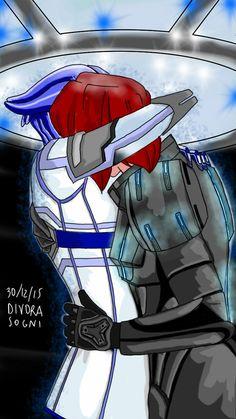 Shadow3 Broker Mass Effect - Femshep e Liara