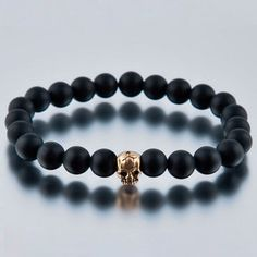 Skull Stretch Bracelet now featured on Fab.