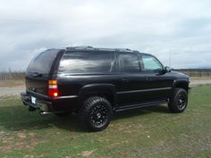 2000 Suburban Lifted Black Awesome