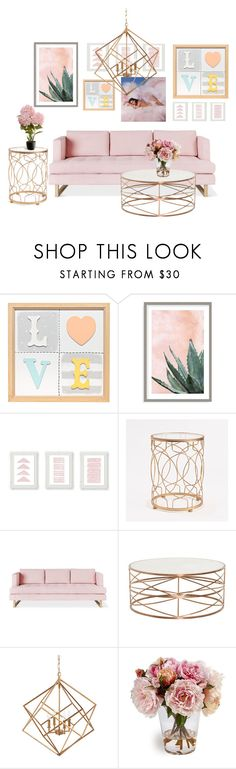 """""""Living Room 4"""" by ellakatykat ❤ liked on Polyvore featuring interior, interiors, interior design, home, home decor, interior decorating, Art Addiction, InnerSpace Luxury Products, Gus* Modern and Hemisphere"""