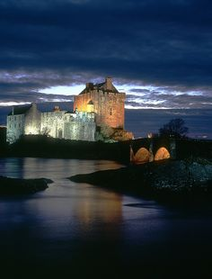 Eilean Donan Castle - Scotland; At the confluence of Loch Duich, Loch Long and Loch Alsh . by bobbrooky