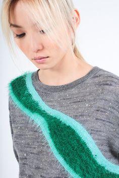 """Borealis"" Sweater - Tsumori Chisato"