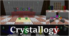 Crystallogy Mod 1.11.2/1.10.2 is a Minecraft mod that tells a story about mystical crystals and their magical properties. Revolving around all kinds of crystal, Crystallogy mod will give players a lot of new material that can be used for making tools, armor and much more!  To begin with, you...