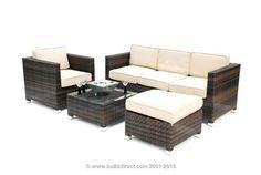 BuildDirect®: Kontiki Conversation Sets - Wicker Sofa Sets