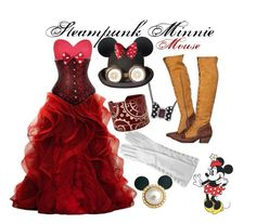 I WILL find this dress! Steampunk Disney outfits are awesome. :)