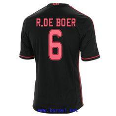 Maillot de foot AFC Ajax Exterieur 2013 2014 (6 R.De Boer) Noir Pas Cher http://www.korsel.net/maillot-de-foot-afc-ajax-exterieur-2013-2014-6-rde-boer-noir-pas-cher-p-3355.html
