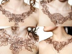 Kerry Howley's Hairy Necklaces