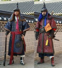 Joseon period soldiers