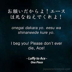 Learn Japanese With Phrases From One Piece Anime And Manga