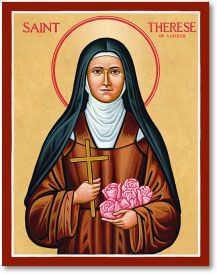 St Therese of Lisieux icon