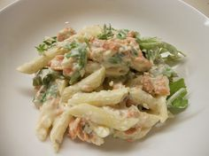Smoked salmon pasta, Salmon pasta and Smoked salmon pasta recipes on ...