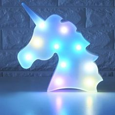 Colorful Unicorn Head LED Night Light up Table Lamp Kids Bedroom Christmas Decor . Find great deals for Colorful Unicorn Head LED Night Light up Table Lamp Kids