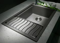 five hacks to save space in compact kitchens learn more at blancobydesign - Compact Kitchen Sink