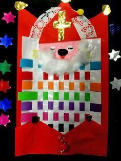 Knutselen 2d: Sint slaapt op school Christmas Time, Christmas Ornaments, Saint Nicholas, Winter Kids, Too Cool For School, Saints, December, Holiday Decor, Projects