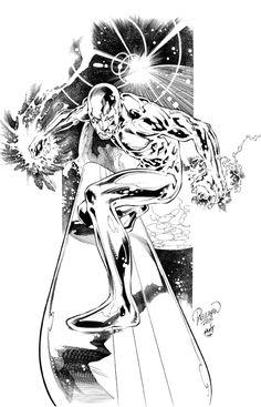 Silver Surfer by Carlo Pagulayan