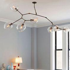 Vintage Loft Industrial Pendant Lights Black Gold Bar Stair Dining Room Glass…