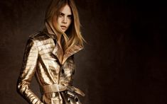 Cara Delevingne Stylish Bright Yellow Coat Wallpaper - HD Wallpapers - Free Wallpapers - Desktop Backgrounds