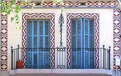 designer balconies in Barcelona