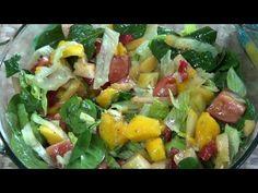 En esta ocasión, os enseño como hacer una riquísima ensalada de frutas y verduras. Para más recetas de cocina, suscríbete http://is.gd/wMvwDJ Comenta y dale ...