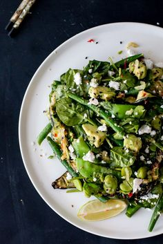 Sesame Crusted Tuna Green Salad - THe Brick Kitchen-7