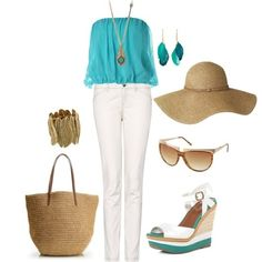 The perfect beach outfit